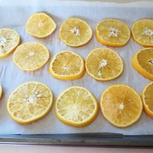 oranges before baking