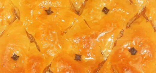 baklava close up