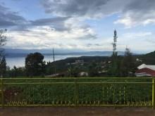 The view from Mamma Muhire's house, overlooking Lake Kivu.