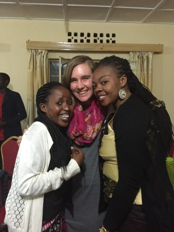 Shukulu and Prisca, two of my PIASS sisters