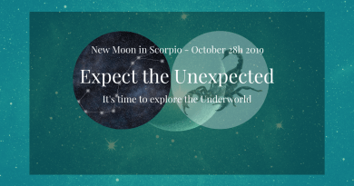 New moon in Scorpio October 2019