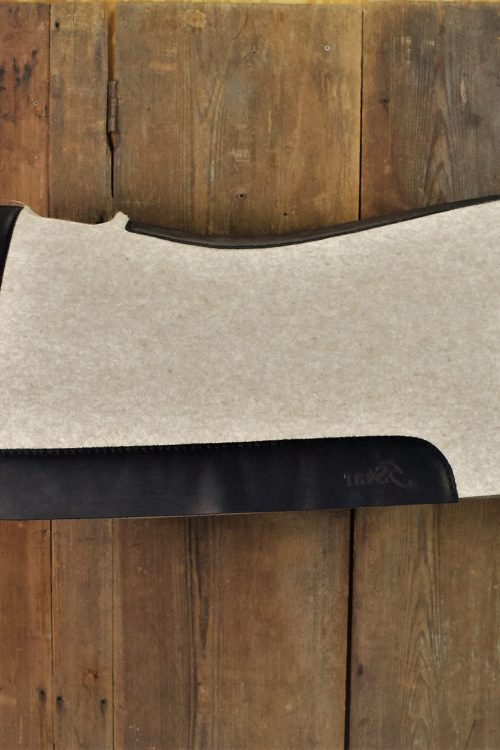 32 x 30 Square 5 Star Felt Saddle Pad