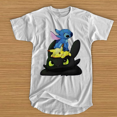 9bf0e84d275b Stitch Pokemon Grinch T-SHIRT For Men and Women - thesadsong.com