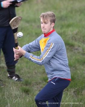 Under 16 winner Daire Stevenson