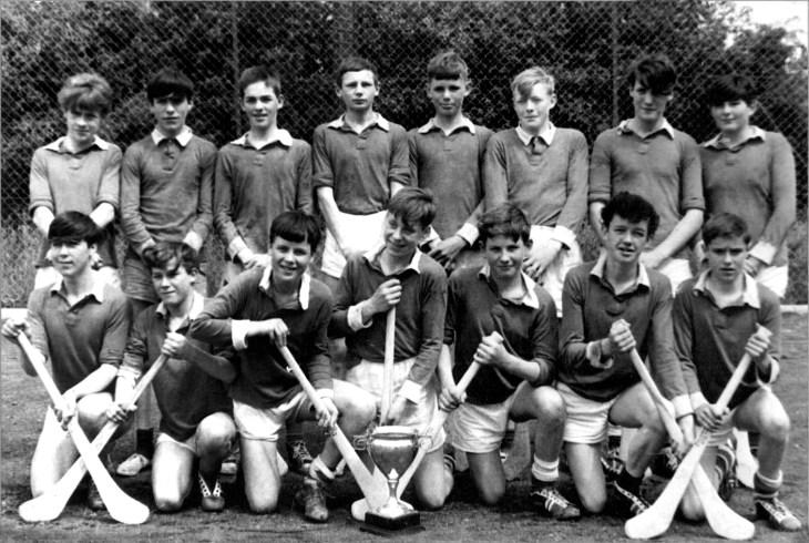 ST PATRICKS HURLING TEAM 1966