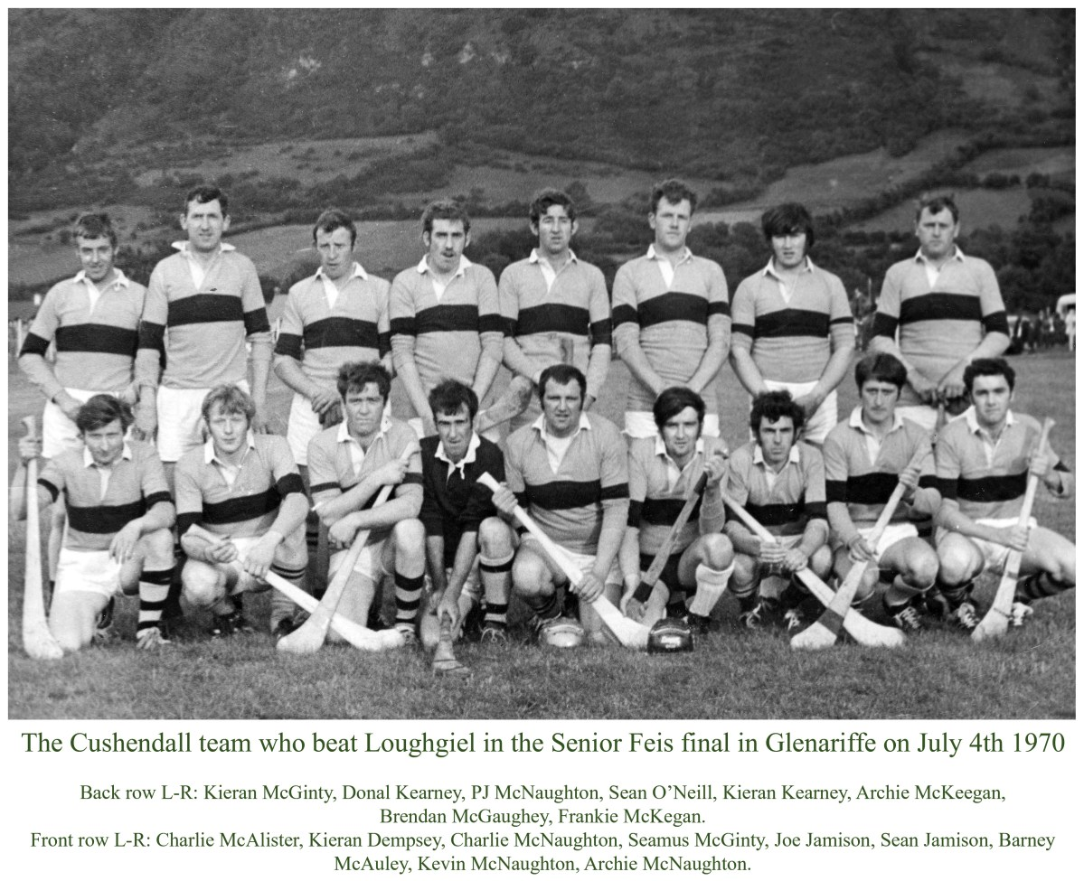 Cushendall shocked the Shamrocks fifty years ago today