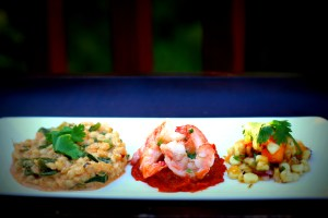 Fancy Mexican- trio on a plate Jun 23, 2015, 7-15 PM