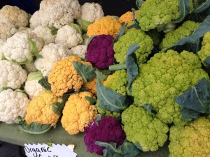 tri color cauliflower