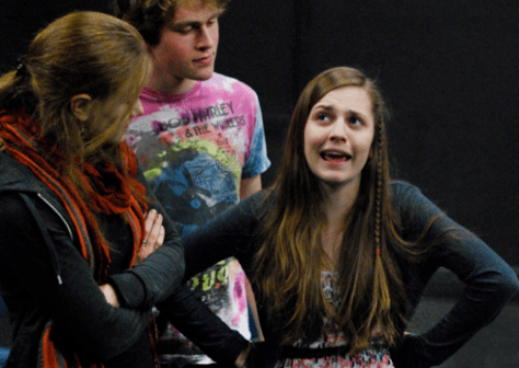 Student steadily holds reigns of Emerson Play
