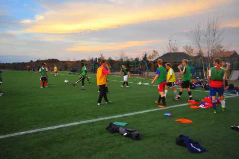 Soccer team persists despite racial slurs