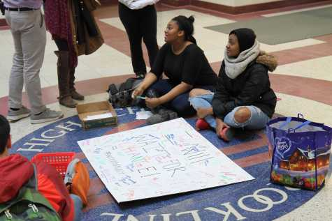 Students seek change in second atrium sit-in