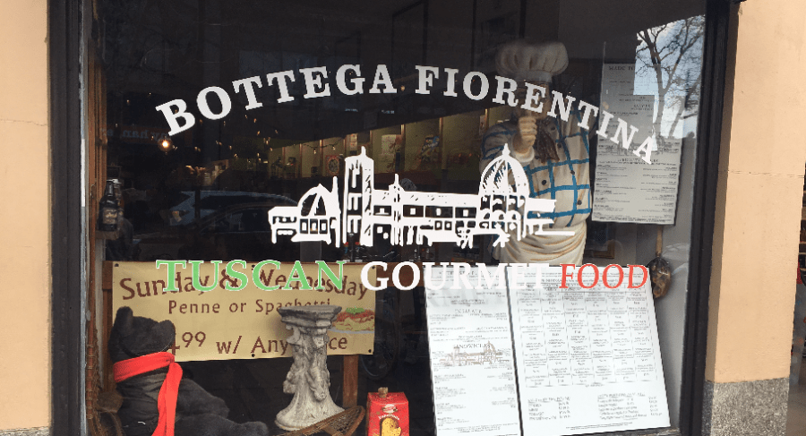 Bottega+Fiorentina%2C+a+small+Italian+eatery%2C+is+located+in+Coolidge+Corner.+ETHAN+GAINSBORO+%2F+SAGAMORE+STAFF