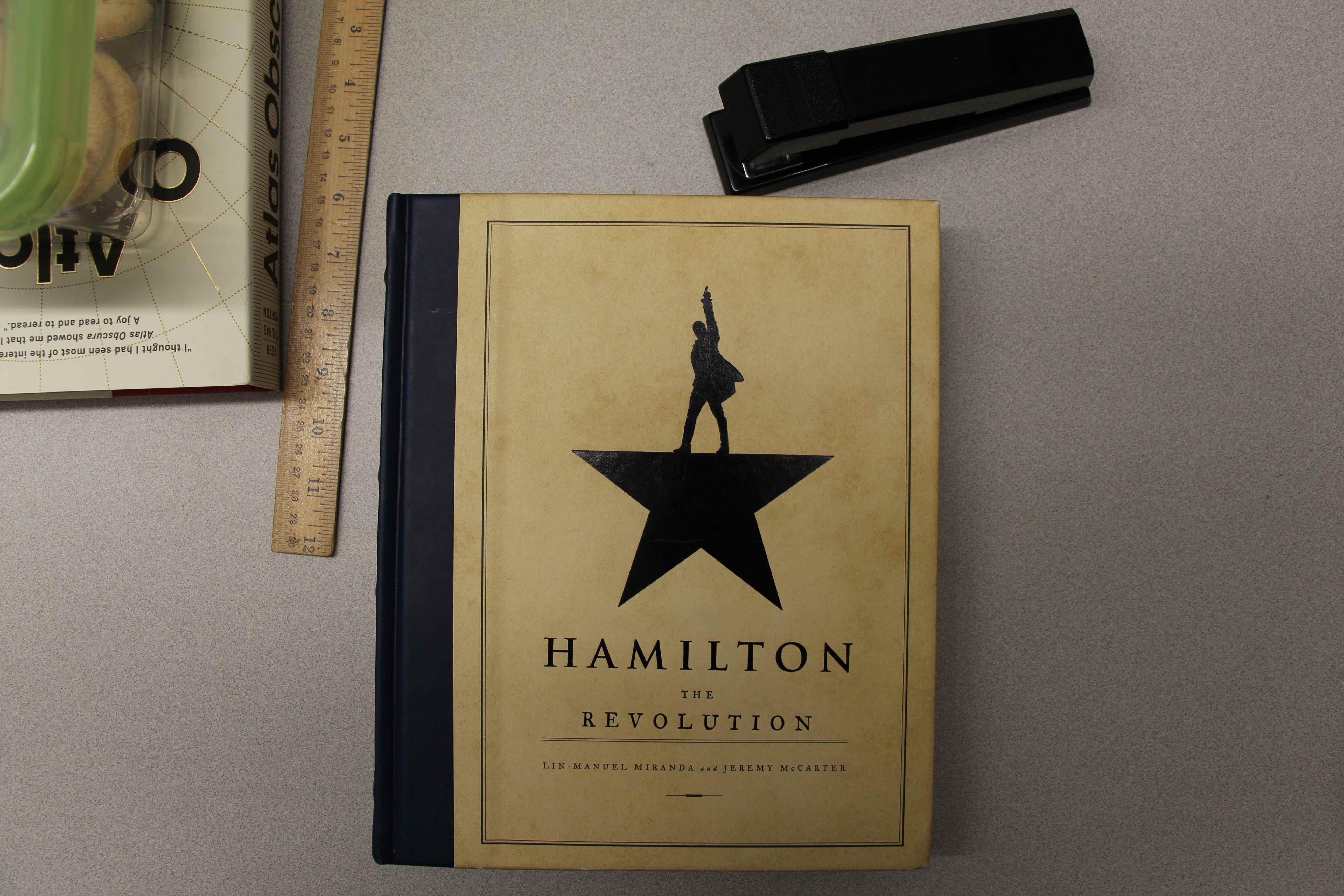 The popularity of the musical Hamilton can be attributed to its modern take on an exciting historical time period and the fact that it features appealing music, according to sophomore Zuzzie Savitz. Maya Morris / Sagamore Staff