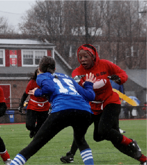 Powderpuff player finds game unifying