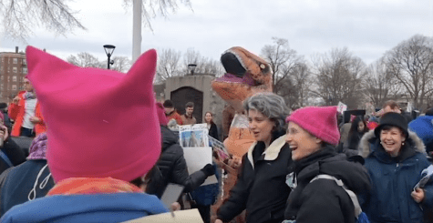 Bostonians rally for 2018 Women's March