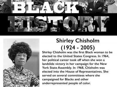Black History Month: Shirley Chisholm