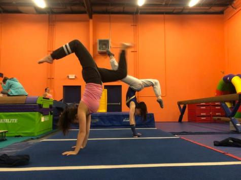 Gymnastics stretches athletes' skills