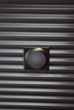 Corrugated tin cieling