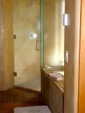 Master Bathroom shower.