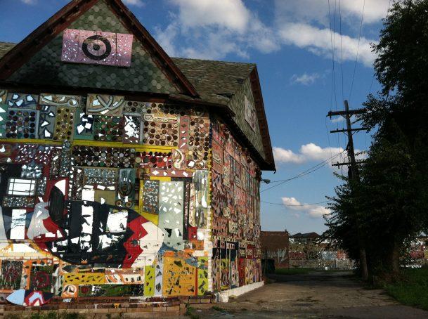 Art house in Detroit.