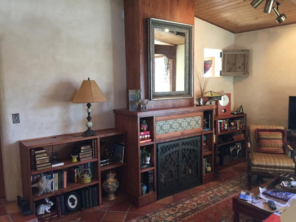 Custom Fireplace Surround