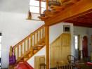 Douglas Fir stairway.