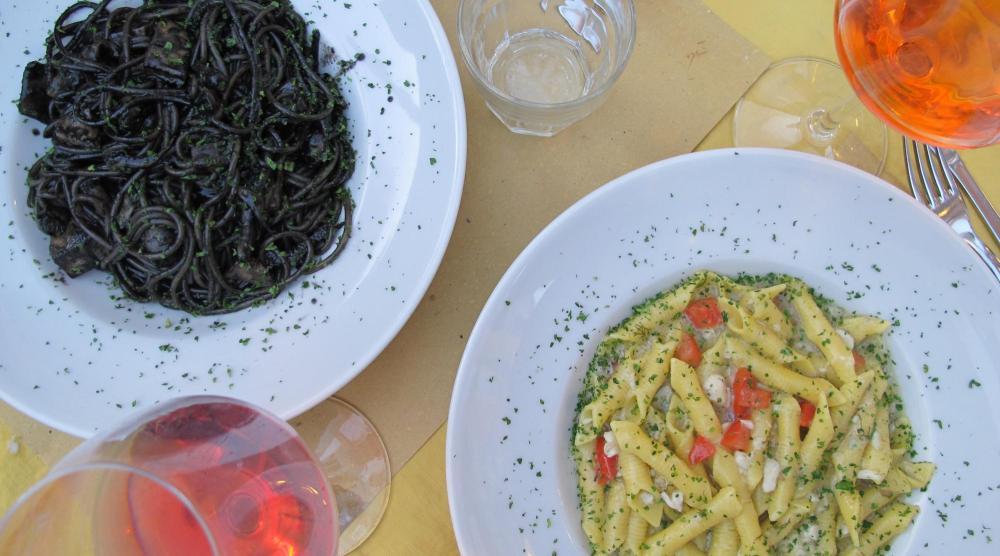 Venedig mit Kindern - Abendessen