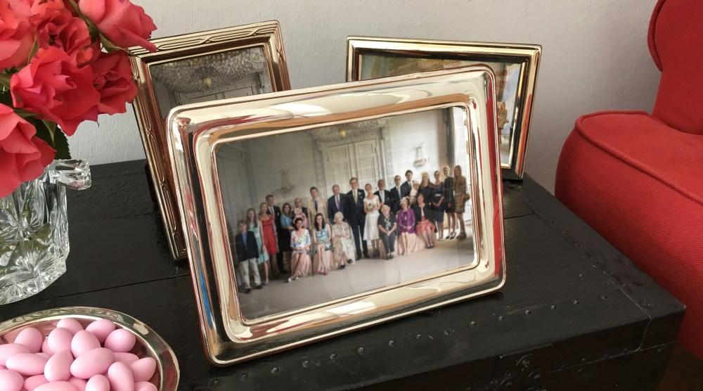 Royal Wedding Picture - Silberrahmen