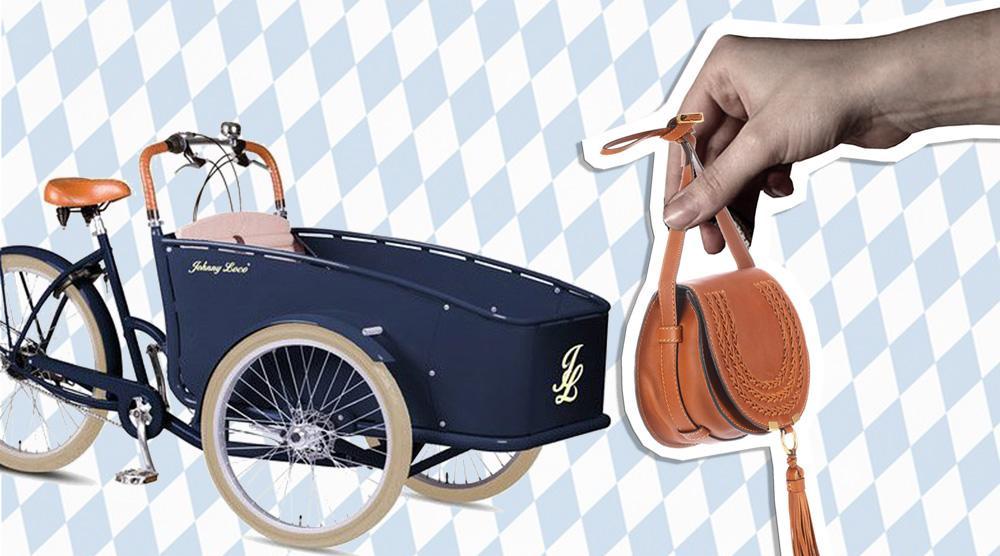 Lastenrad - Rad mit Tasche Bayern
