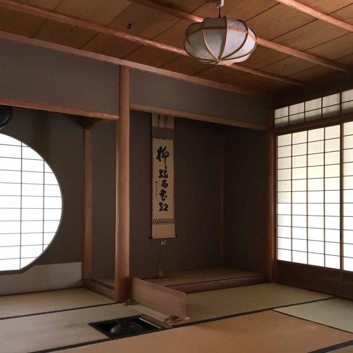 Japanische Teatime - Teezeremonie Teehaus