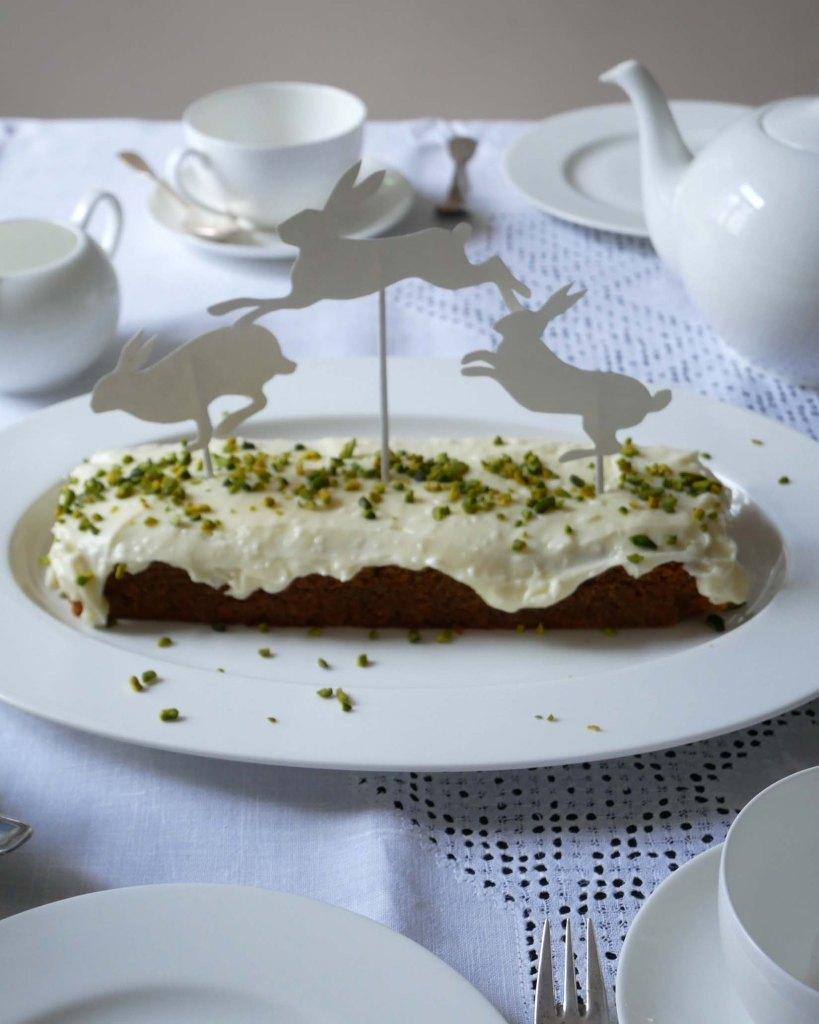 Echt Schweizer Rueeblikuchen - Kaffeetafel mit Caketopper