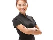 Salon Services Asymmetrical Tunic