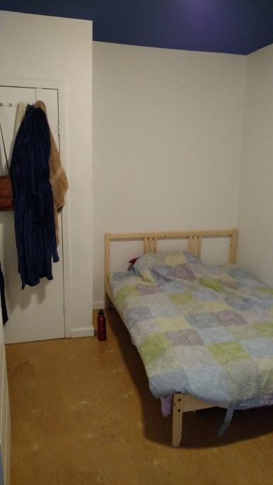 The humble bed of comfy foam matress.
