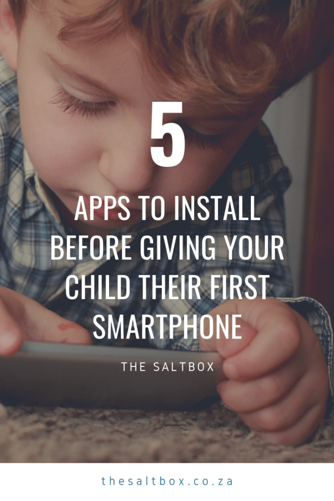 5 Apps to download before giving Your kid their first mobile phone (Share to Pinterest)