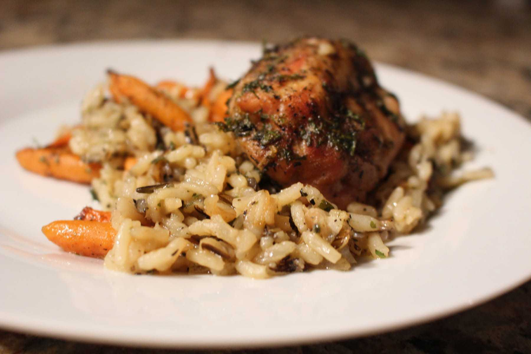 This Chicken & Wild Rice Bake Literally Takes Minutes To Throw Together,  Cooks All In
