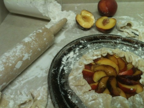 Peach Bourbon Crostata: Recipe by The Local Forkfu