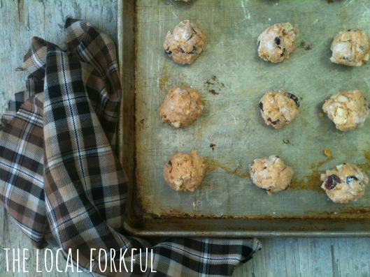Pumpkin Cranberry & Apple Biscuits: Recipe by The Local Forkful
