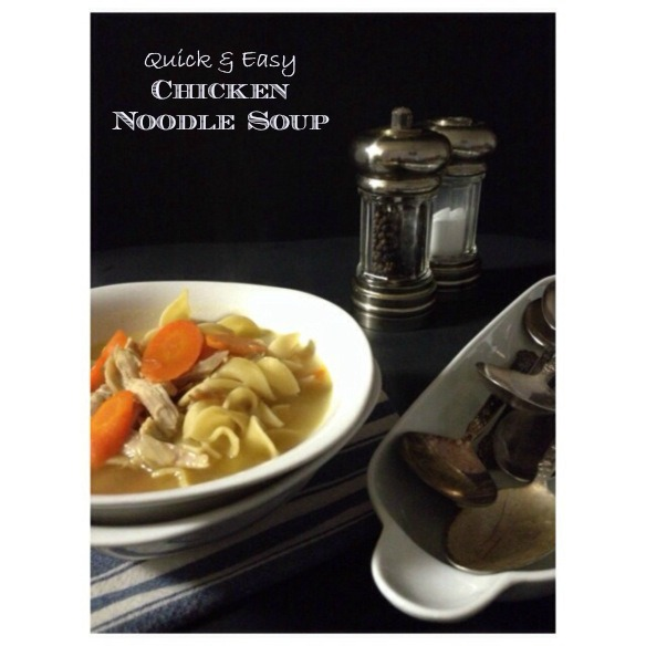 Quick & Easy Chicken Noodle Recipe by The Local Forkful