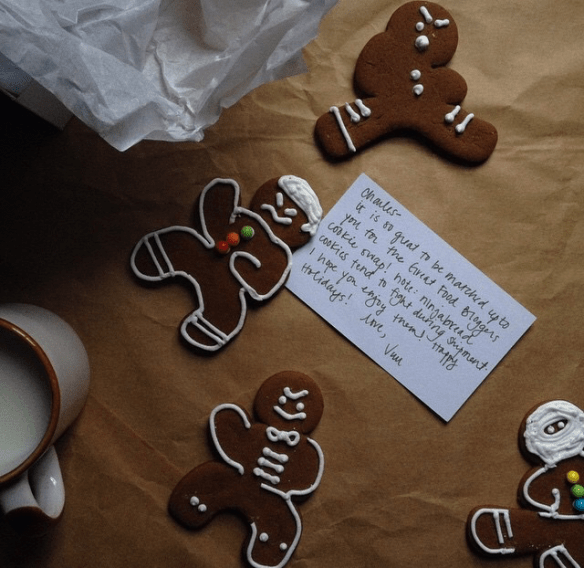 Gingerbread Cookies via The Great Food Bloggers Cookie Swap