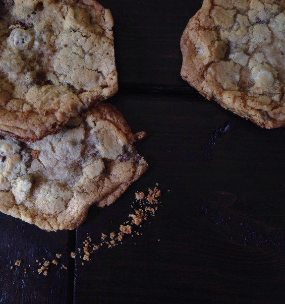 Goo Goo Cluster Chocolate Chip Cookies