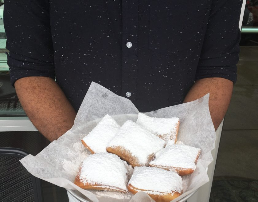 Beignets from Beignet Cafe in Huntsville, Alabama