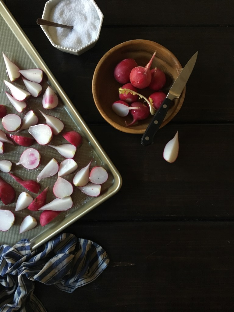 Roasted Radishes : The Salted Table dot com