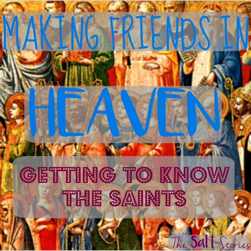 The Salt Stories: Making New Friends in Heaven