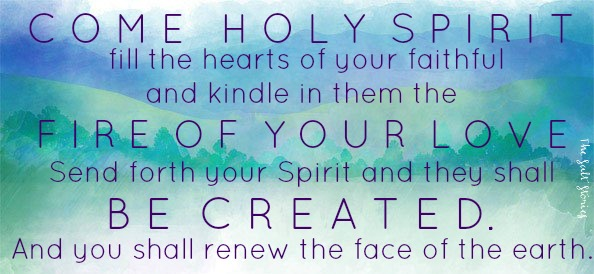 THE SALT STORIES - Come Holy Spirit...In Remembrance