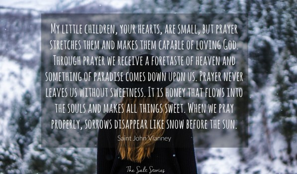 The Salt Stories: prayer-vianney-snow3