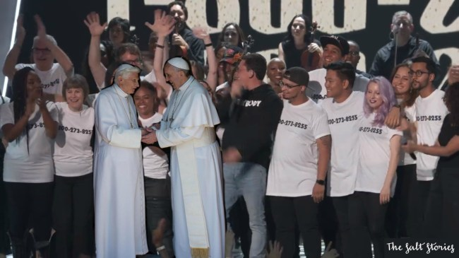 Pope Benedict XVI at the VMAs @ The Salt Stories