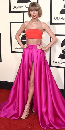 Taylor Swift arrives at the 58th annual Grammy Awards at the Staples Center on Monday, Feb. 15, 2016, in Los Angeles. (Photo by Jordan Strauss/Invision/AP)
