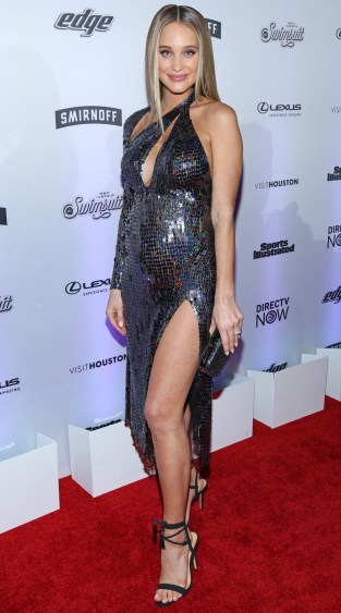 2017 Sports Illustrated Swimsuit Edition launch event at Center 415 on February 16, 2017 in New York City, New York. Pictured: Hannah Jeter Ref: SPL1445191 160217 Picture by: shark pics / Splash News Splash News and Pictures Los Angeles: 310-821-2666 New York: 212-619-2666 London: 870-934-2666 photodesk@splashnews.com