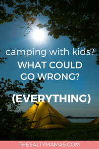 When everything goes wrong - like you knew it would - at least you can hear those magic words: You were right! #camping #momlife #campingwithkids #vacationwithkids #kids #dadlife #parenting #thegreatoutdoors #greatoutdoors #cabinlife #campinglife #cabininthewoods #hikingwithkids #hiking #smores #childhoodunplugged