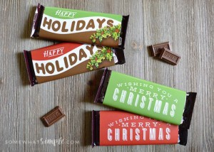 candy bars for preschool class gifts